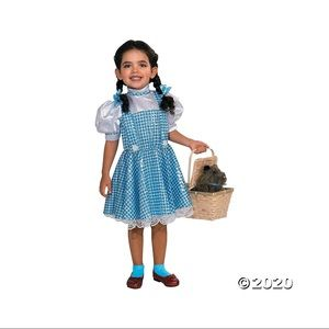 The wizard of oz Dorothy girl costume size 4-6